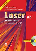 Laser A2 Third Edition Student's Book and CD-ROM Pack