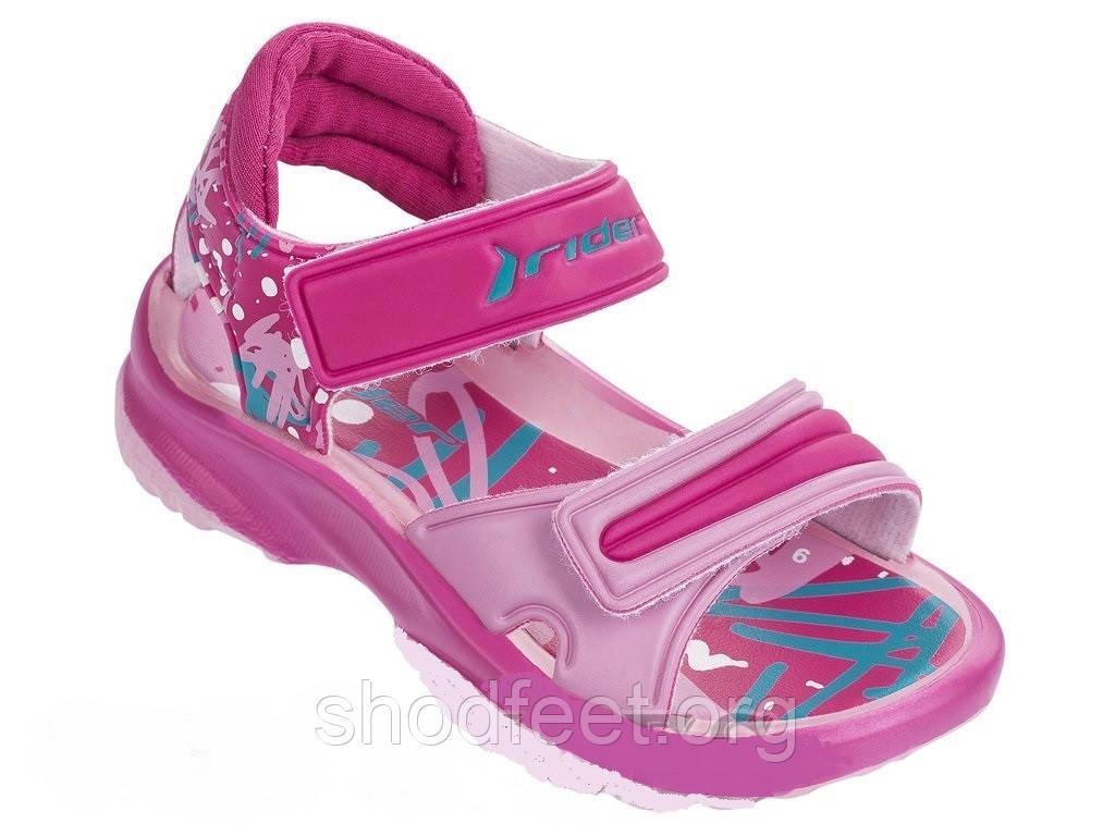 Детские сандалии Rider K2 Twist VI Baby 81912-24074 (для девочек)