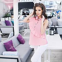 Летняя блузка с рюшами. Разные цвета.
