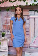 Летнее льяное платье 10 цветов с 44 по 50 размер