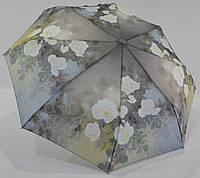 """Зонт женский полуавтомат """"цветок"""" на 8 карбоновых спиц от фирмы """"Feeling Rain"""""""