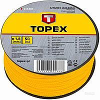 Шнур разметочный Topex 13A910
