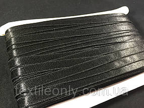 Резинка для бретелей цвет черный 10 мм
