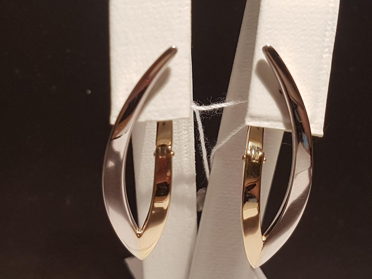 Золотые серьги. Артикул 110467КБ