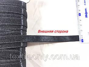 Резинка для бретелей цвет черный 10 мм, фото 2