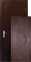 Двери ZIMEN Викинг Z-07  2-х контурная Золотой дуб Металл