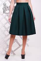 Женская юбка миди Люкс-2 пышная из Габардина