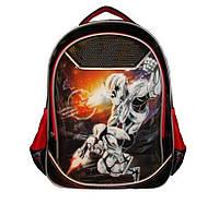 Рюкзак школьный для мальчика Class 9742 черный Чехия