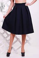 Женская юбка миди Люкс-3 пышная из Габардина