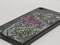 Чехол для смартфона Meizu U20 бабочка черная рамка, фото 1