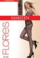 Marilyn FLORES B02 Колготки с узором, фото 1