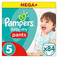 Подгузники-трусики Pampers Pants Junior 5 (12-18 кг) Mega Pack, 84 шт.