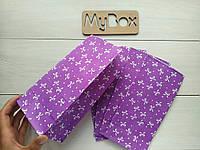 """Пакет 190/95/65мм """"бантик"""" фиолет"""