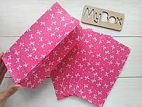 """Пакет 190/95/65мм """"бантик"""" розовый"""