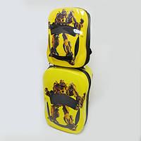 Чемодан+Рюкзак детский дорожный набор пластиковый размер 18 Трансформеры 0977-1-ST