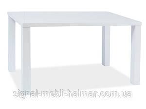 Стол кухонный белый лак Montego 120x80 (signal)