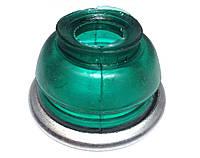 Пыльник шарнира рулевого (пальца) Газель (зелен. силикон) (пр-во AWEL)