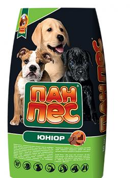 Сухой корм Пан Пес Юниор для щенков, 10 кг