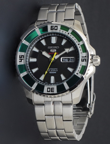 Часы Seiko 5 Sports SRP205K1 Automatic 4R36