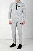 Только размер S Мужской спортивный костюм Adidas (стильный, молодежный, для зала, для прогрулок) /