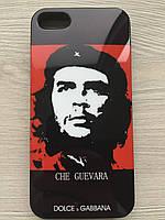 Чехол DOLCE&GABBANA Che Guevara для iPhone 5/5s+пленка