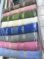 Полотенца хлопковые банные Турция в ассортименте