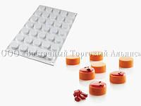 Форма для десертов Micro Round SILIKOMART, фото 1