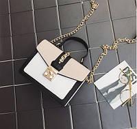 Элегантная сумка на цепочке