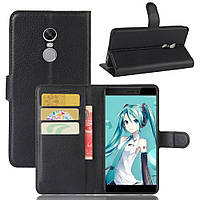 Чехол для Xiaomi Redmi Note 4X / Note 4X Global книжка кожа PU черный
