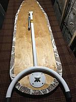 Встроенная в шкаф компактная гладильная доска 380 мм на 1150 мм