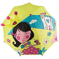 Зонт детский 3D D-55 princess2