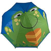 Зонт детский 3D D-55 frog