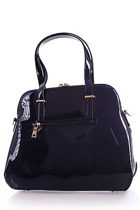 Лаковая женская сумка, фото 2