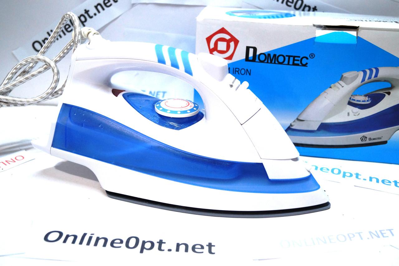 Domotec MS-2218 Паровой Утюг с керамической подошвой и функцией самоочистки