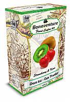 """Зеленый чай """"Strawberry & Kiwi"""" (Клубника и Киви) - Bonaventure 100 г."""