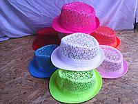 Шляпка ажурная