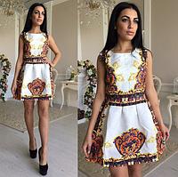 Невероятное красивое платье ткань жаккард с и м