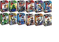 """Конструктор аналог Lego минифигурок """"Мстители эра Альтрона"""" с оружием Super Heroes арт. 0205-16 (12персонажей)"""