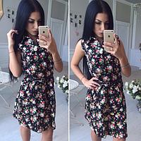 Платье Ткань-джинс Размеры С и М