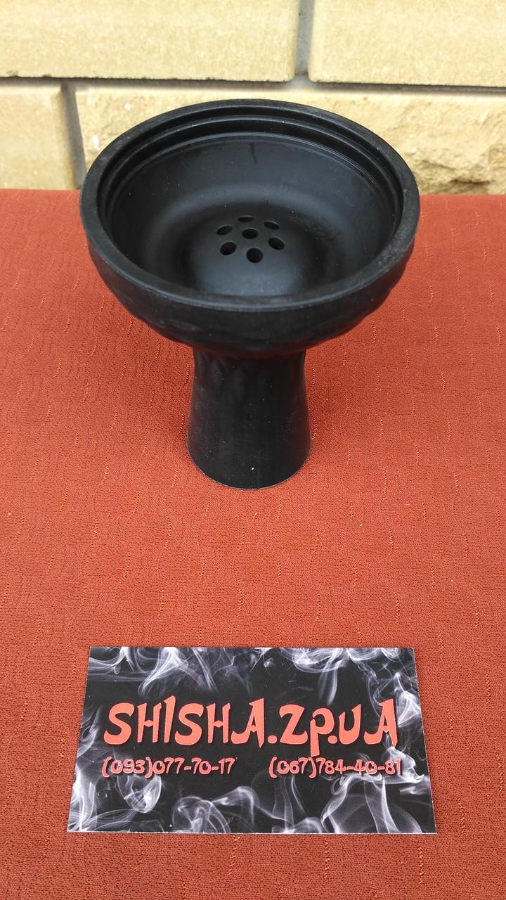 Чаша силиконовая под калауд с бортом - цвет: Черная
