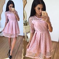 Платье Ткань-дорогой гипюр сетка
