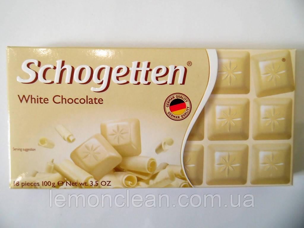 Шоколад Schogetten White Chocolate 100г