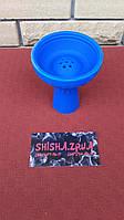 Чаша силиконовая под калауд с бортом - цвет: Синяя, фото 1