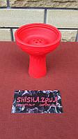 Чаша силиконовая под калауд с бортом - цвет: Красная
