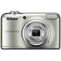 Цифровий фотоапарат Nikon Coolpix A10 Silver (VNA980E1)