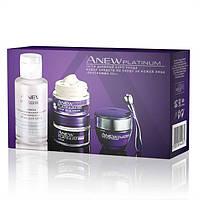 44476,Avon Cosmetics.Набор средств по уходу за кожей лица для возраста 55+ Anew Platinum.Avon Cosmetics,44476