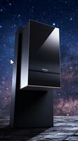 Настенный конденсационный двухконтурный газовый котел Buderus Logamax plus GB172i-14 KD (черный)