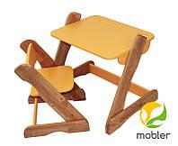 Детские столик и стульчик «Карапуз», Mobler