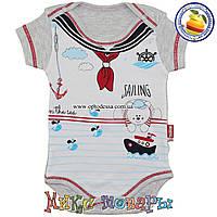 Детские боди для мальчика Рост: 62-68-74-80 см (5357-1)