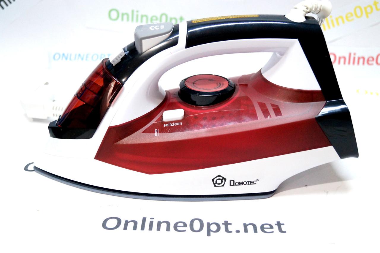 Domotec MS-2239 Паровой Утюг с керамической подошвой и функцией самоочистки